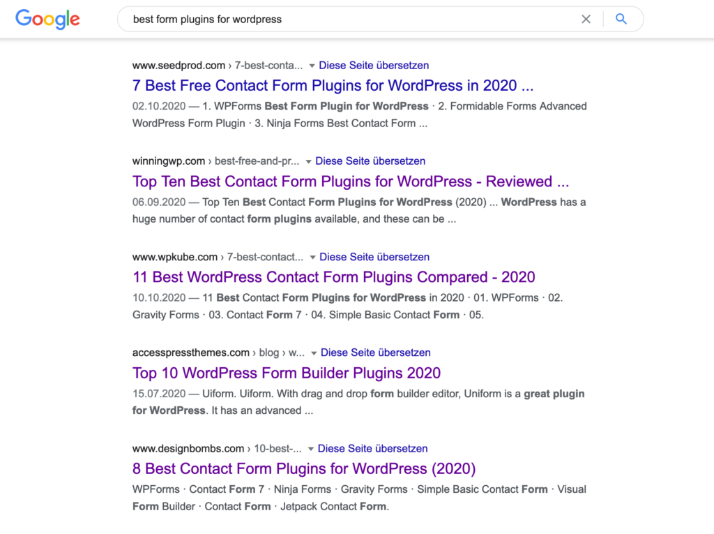 "Search result for ""best form plugins for wordpress"""